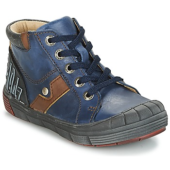 Shoes Boy Hi top trainers GBB RENOLD Vte / Marine