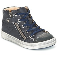 Shoes Boy Mid boots GBB NICO Vte / Marine