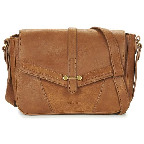 Bags Women Shoulder bags Nat et Nin PAOLA Brown