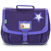 Bags Girl Satchels Tann's LES CHICS FILLES CARTABLE 35CM Purple