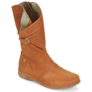 Shoes Women High boots El Naturalista ANGKOR Camel
