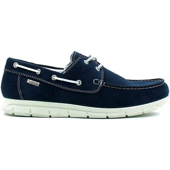 Shoes Men Loafers Igi&co 7708 Mocassins Man Blue Blue