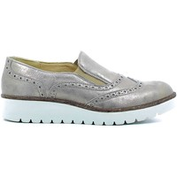 Shoes Women Walking shoes Igi&co 7741 Lace-up heels Women Grey Grey