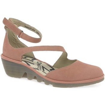 Shoes Women Sandals Fly London Plan Womens Casual Wedge Heel Sandals pink