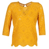 Clothing Women Tops / Blouses Betty London GRIZ Yellow