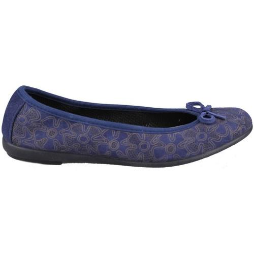 Shoes Women Flat shoes Vulladi SERRAJE LETINA FLORES BLUE