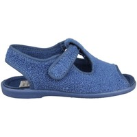 Shoes Children Baby slippers Vulladi TOALLA AZAFATA ÑAK VELCRO BLUE