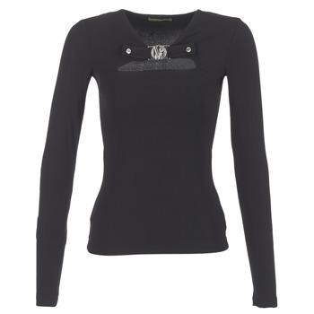 Clothing Women Tops / Blouses Versace Jeans B2HQA732 Black
