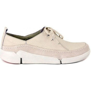 Shoes Women Low top trainers Clarks Tri Angel Cream