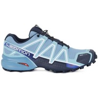 Shoes Women Low top trainers Salomon Speedcross 4 CS W Light blue