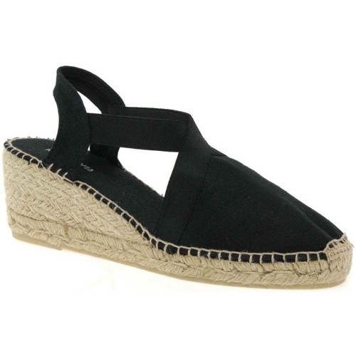 Shoes Women Espadrilles Toni Pons Ter Womens Wedge Heeled Espadrilles black