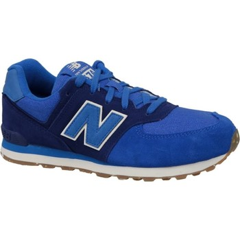 Shoes Children Low top trainers New Balance KL574ESG Blue-Navy blue