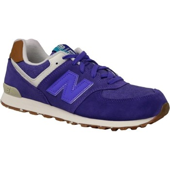 Shoes Children Low top trainers New Balance KL574EUG Violet