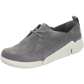 Shoes Women Low top trainers Clarks 261156404 Grey