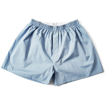 Clothing Men Trunks / Underwear Sunspel Classic Boxer Short Blue Blue