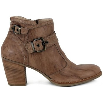 Shoes Women Ankle boots Nero Giardini Rodeo Tronchetto Beige-Brown
