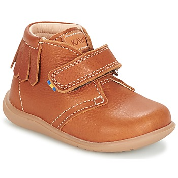 Shoes Children Mid boots Kavat TTINKA EP Camel