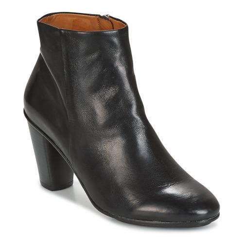 Shoes Women Ankle boots n.d.c. AURORA ZIP Black