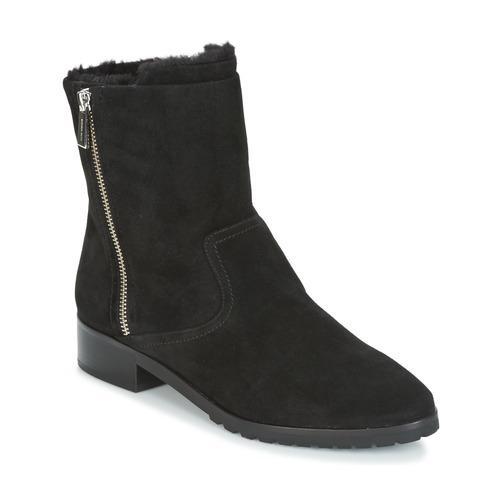 Shoes Women Mid boots MICHAEL Michael Kors ANDI FLAT BOOTIE Black
