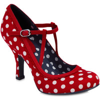 Shoes Women Heels Ruby-shoo Ruby Shoo Ladies Jessica Mary Jane Shoes Red Spots