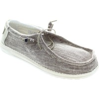 Shoes Men Loafers Hey Dude Wally Woven Beige