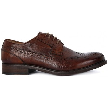 Shoes Men Shoes Kammi BRECOS ALLACCIATA BUFALO BRANDY Marrone