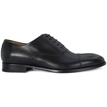 Shoes Men Shoes Kammi BRECOS ALLACCIATA VITELLO NERO Nero
