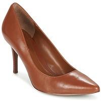 Shoes Women Heels Ralph Lauren REAVE Cognac