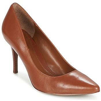 Shoes Women Heels Ralph Lauren REAVE COGNAC
