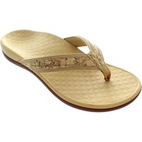 Shoes Women Sandals Vionic Islander Gold Cork