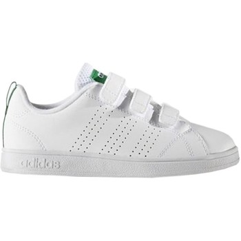 Shoes Children Low top trainers adidas Originals VS Advantage Clean Cmf C White