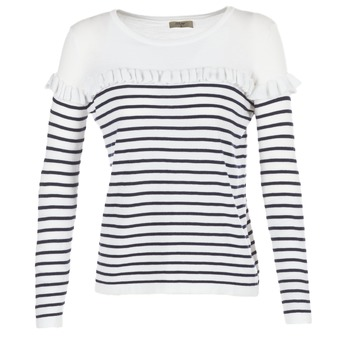 Clothing Women Jumpers Betty London HOMI Marine / White