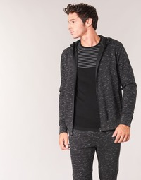 Clothing Men sweaters Yurban IHEMEL Black