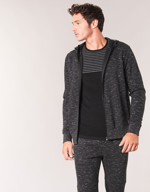 Clothing Men sweaters Yurban IHEMEL Black