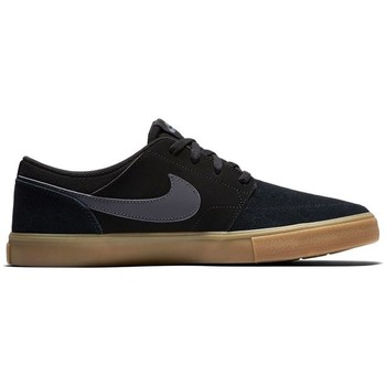 Shoes Men Low top trainers Nike SB Portmore II Solar Black-Cream-Graphite