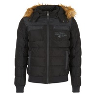 Clothing Men Duffel coats Kaporal GERIK Black