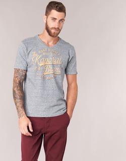 Clothing Men short-sleeved t-shirts Kaporal JAPAN Grey
