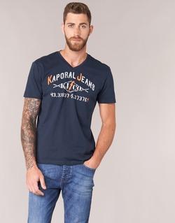 Clothing Men short-sleeved t-shirts Kaporal MAKAO Marine