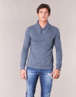 Clothing Men jumpers Kaporal MARX Blue