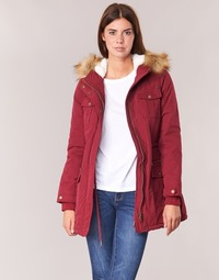 Clothing Women Parkas Kaporal BREVE Bordeaux