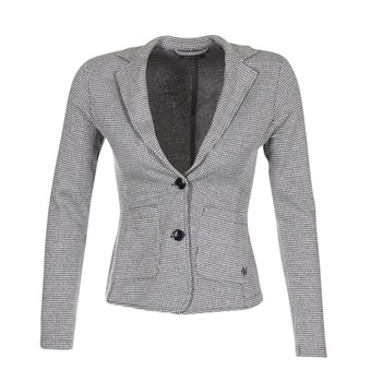 Clothing Women Jackets / Blazers Marc O'Polo DOREA Black / White