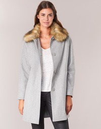 Clothing Women coats Naf Naf ADOUTA Grey