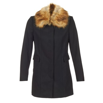 Clothing Women coats Naf Naf APRAGA Black