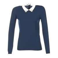 Clothing Women jumpers Naf Naf MARJORA MARINE