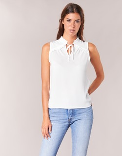 Clothing Women Tops / Blouses Naf Naf PIPANA White