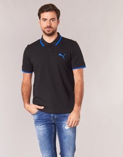 Clothing Men short-sleeved polo shirts Puma ACTIVE HERO POLO Black