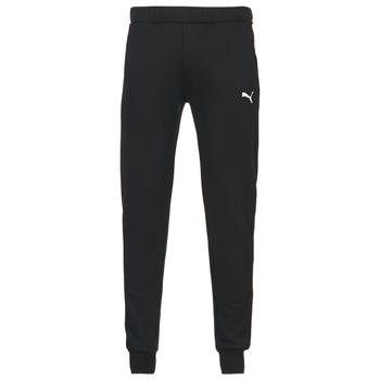 Clothing Men Tracksuit bottoms Puma SWEAT PANTS SLIM FL Black