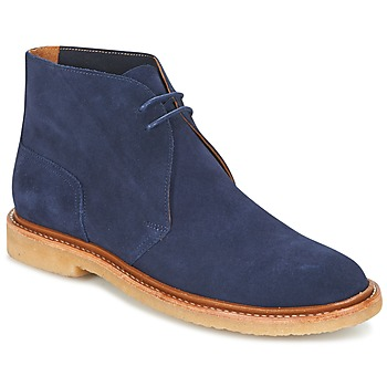 Shoes Men Mid boots Ralph Lauren KARLYLE Marine