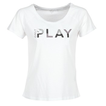 Clothing Women short-sleeved t-shirts Only Play LINDA White