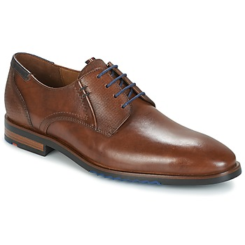 Shoes Men Derby Shoes Lloyd DENO Cognac
